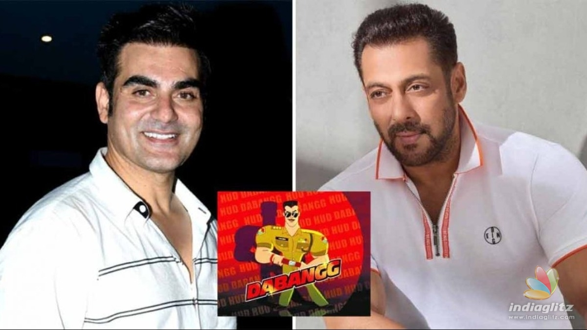 Heres why Salman Khan didnt reprise the role of Chulbul Pandey