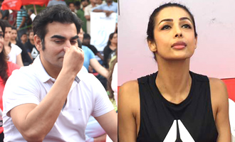 Arbaaz Khan & Malaika Arora Khan at 3rd International Day