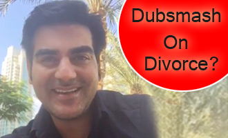 Arbaaz Khan dubsmashes on Divorce stories