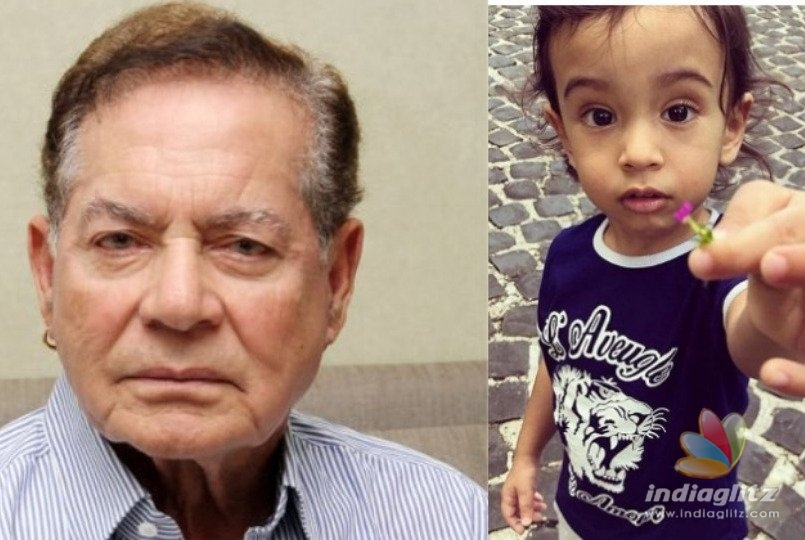 Salman Khan's Father Salim Khan Celebrated Ahil's Birthday Like This!
