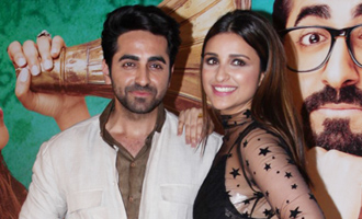 Ayushmann Khurrana & Parineeti Chopra at Song Launch of Film 'Meri Pyaari Bindu'