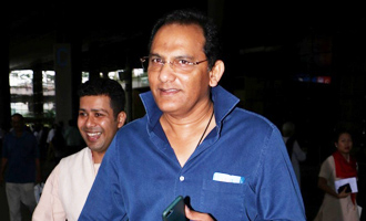 Cricketer Mohammad Azharuddin Spotted at International Airport