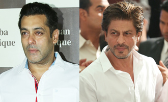 Salman Khan & SRK come together for Baba Siddiques Iftaari party