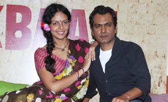 Nawazuddin Siddiqui & Bidita Bag at 'Babumoshai Bandookbaaz' Trailer Launch