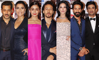 Salman, Kajol, Alia, Tiger, Shahid, Sushant at BIG ZEE Entertainment Awards 2017
