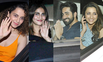 Kangana, Vaani, Ayushmann, Parineeti at 'Meri Pyaari Bindu' Screening