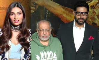 Abhishek Bachchan, Athiya Shetty at Celebration of 20 years of 'Border'