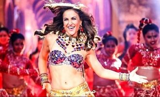 Elli AvrRam Gives A Sassy Twist In The Recreated Version Of Chamma Chamma From Fraud Saiyaan