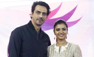 Arjun Rampal Aishwarya Rajesh Visit The Girls of Dagdi Chawl
