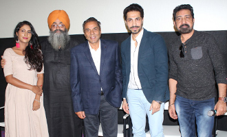 Dharmendra & Deep Sidhu Host Teaser Launch of 'Jora 10 Numbaria' at Sunny Super Sound