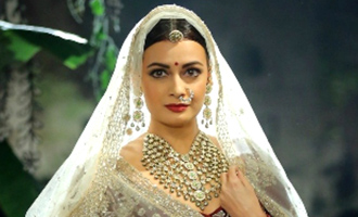 Dia Mirza takes her love for nature to ramp