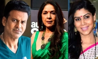 Manoj Bajpayee Neena Gupta and Sakshi Tanwar to share screen in thriller Dial 100