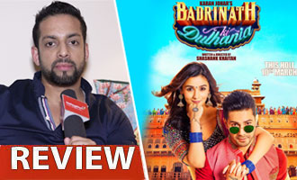 Watch 'Badrinath Ki Dulhania' Review by Salil Acharya