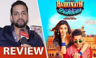Watch 'Badrinath Ki Dulhania' Review by Salil Acharya