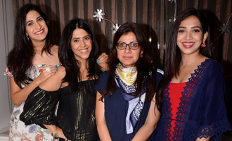 Ekta Kaooor at 'Lipstick Under My Burkha' Success Meet