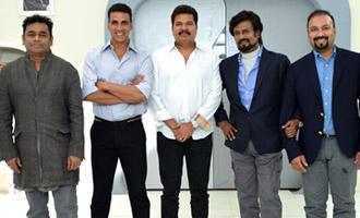 Breaking : Akshay joins Rajini and Shankar