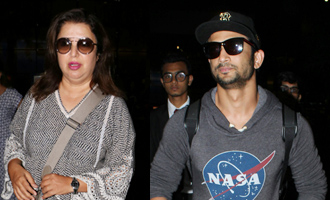 ​Sushant Singh Rajput & Farah Khan Spotted at Airport