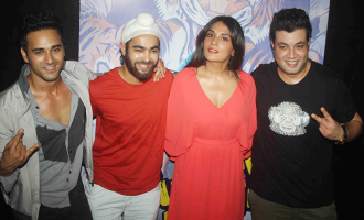 Richa Chadha, Pulkit Samrat at 'Fukrey Returns' Teaser Launch