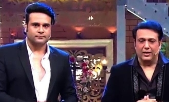 Govinda responds to nephew Krushna's 'defamatory' comments.