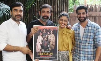 Ragini Khanna, Akshay Oberoi & Pankaj Tripathi at 'Gurgaon' Team Interview