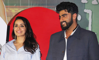 Arjun Kapoor & Shraddha Kapoor at 'Half Girlfriend' Music Concert