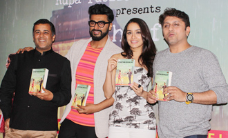 Arjun Kapoor & Shraddha Kapoor Launch 'Half Girlfriend' Book