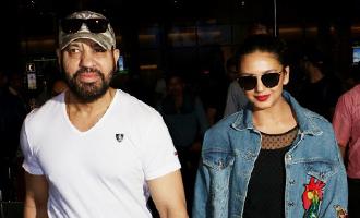 Huma Qureshi & Shera Spotted at Airport