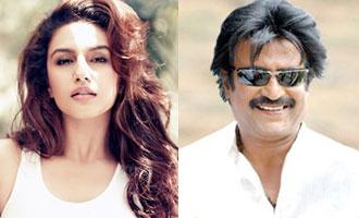 Fortunate, blessed to work with Rajinikanth, says Huma