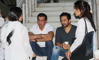 B-Town Celebs at Chautha Ceremony of Inder Kumar