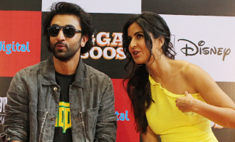 Ranbir Kapoor & Katrina Kaif at 'Jagga Jasoos' Press Conference