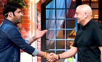 Kapil Sharma thanks Anupam Kher for a beautiful gift