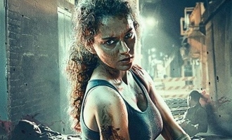 Check out the stunning poster and release date of Kangana Ranaut's 'Dhaakad'.