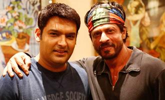 Comedian Kapil Sharma steps into Bollywood superstar Shah Rukh Khan's shoes!