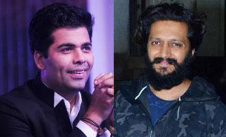 You continue to empower Marathi cinema: KJo to Riteish Deshmukh
