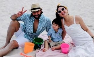 Latest Pics Of Saif Ali Khan, Kareena Kapoor Khan And Taimur At The Beach Is Unmissable!