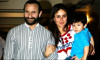 Saif Ali Khan  Kareena Kapoors Son Taimur Will Celebrate His Birthday