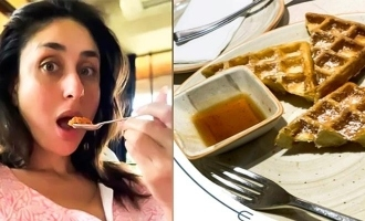Kareena Kapoor shares a picture of her cheat meal