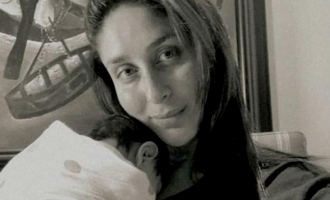 Kareena Kapoor shares first pic of her newborn son