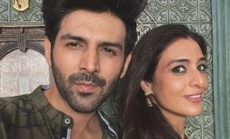 Kartik Aryan and Tabu back on the sets of 'Bhool Bhulaiya 2'