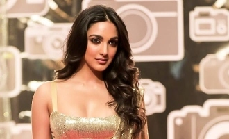 Kiara Advani teases the release of 'Heelein Toot Gayi' from 'Indoo Ki Jawani'.