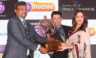 Madhuri Dixit at Videocon D2h New Channel Launch