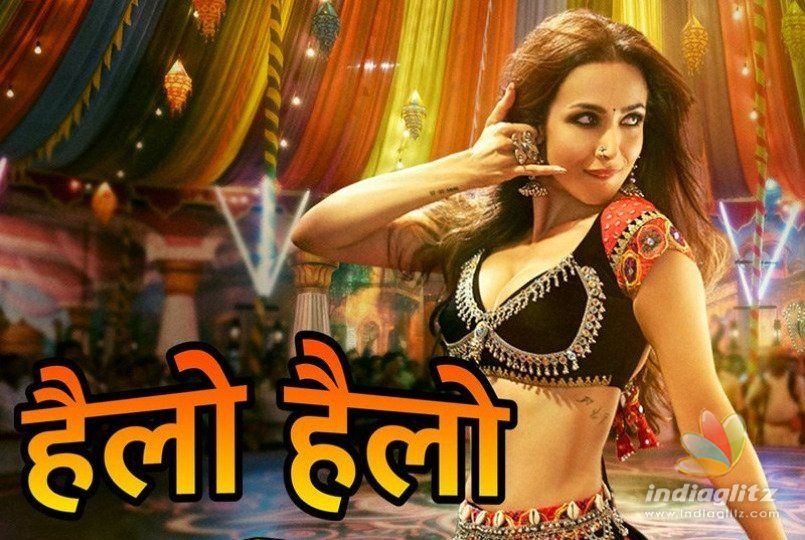 Malaika Arora Khan Raises The Temperature In Hello Hello song from Pataakha