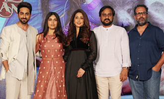 Ayushmann Khurrana & Bhumi Pendnekar at 'Shubh Mangal Savdhaan' Trailer Launch