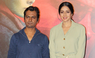 Sridevi & Nawazuddin Siddiqui at 'Mom' Trailer Launch