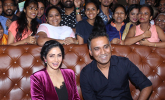 Sridevi attends Special Fan Screening of 'Mom'