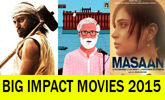 Small Movies, Big Impacts: Bollywood's 2015 Special