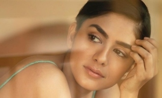 Mrunal Thakur is prepping for this