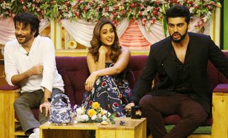 'Mubarakan' Team On Set of Kapil Sharma Show
