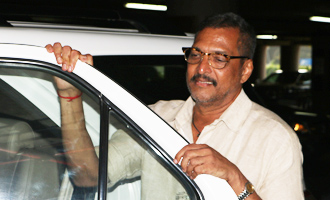 Nana Patekar Spotted at Airport