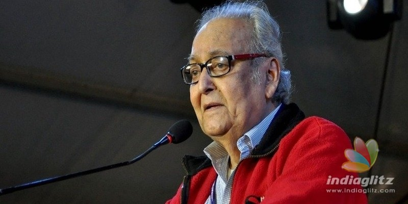 Superstar of Bengali Cinema, Soumitra Chatterjee passed away.